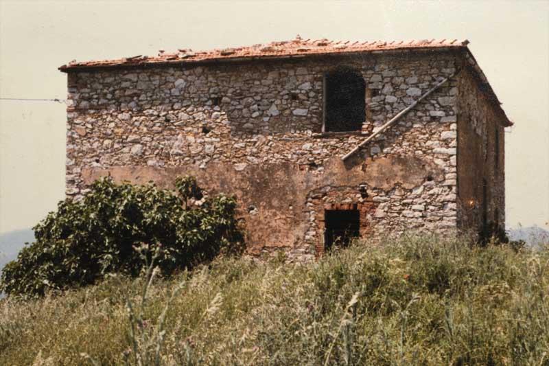 """Galerie Historie Ferienhaus """"Podere Poggio Ventoso"""""""
