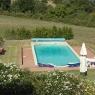 Poggio Ventoso - Der Pool des Gästehauses