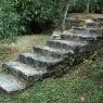 Poggio Ventoso - Treppe zum Garten des Gästehauses